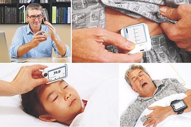 关爱健康 医疗跟踪设备可监测生理参数