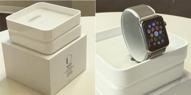 曝光(图片来自instagram)-Apple Watch包装盒提前曝光 表带独装
