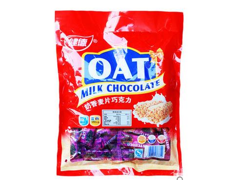 健德营养燕麦巧克力约500G
