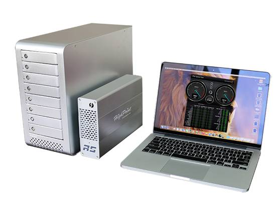 苹果笔记本适配!MAIWO K8F Thunderbolt磁盘阵列柜!
