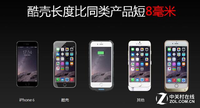 酷壳iphone 6充电版