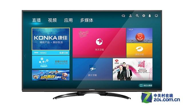 康佳led55e20u液晶电视采用55英寸a 级屏的液晶电视,并且其屏幕的