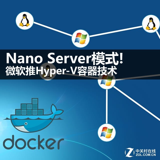 Nano Server模式!微软推Hyper-V容器技术