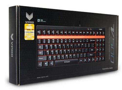 雷柏 V500 机械游戏键盘 黑色版