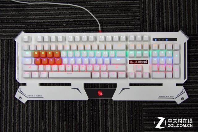 血手幽灵B740悬浮光轴机械键盘首报