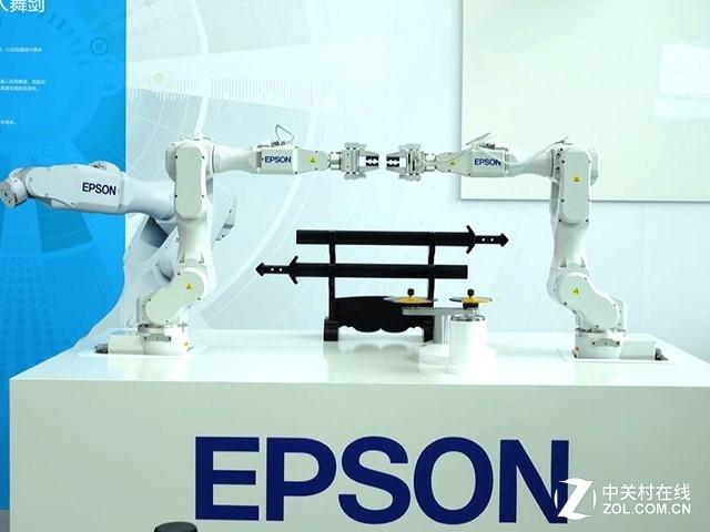 爱普生六轴工业机器人-创新 未来 爱普生春季新品发布会
