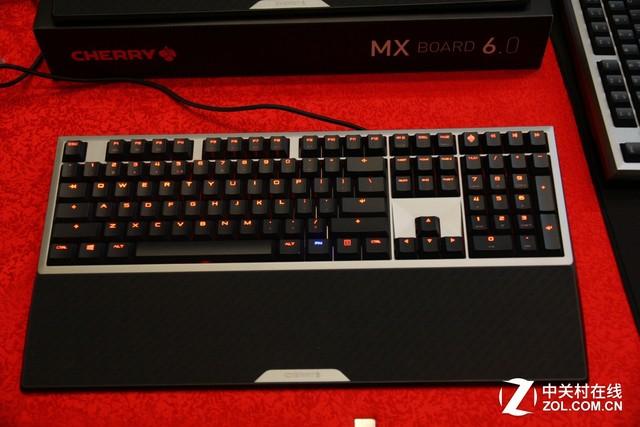 Cherry 新品发布会 MX6.0机械键盘亮相