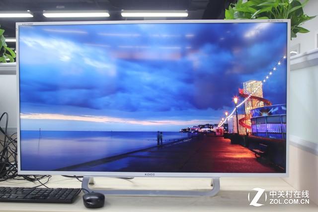 相比于过去的tn面板4k显示器,其在画面的颜色上,尤其是在偏色控制上图片