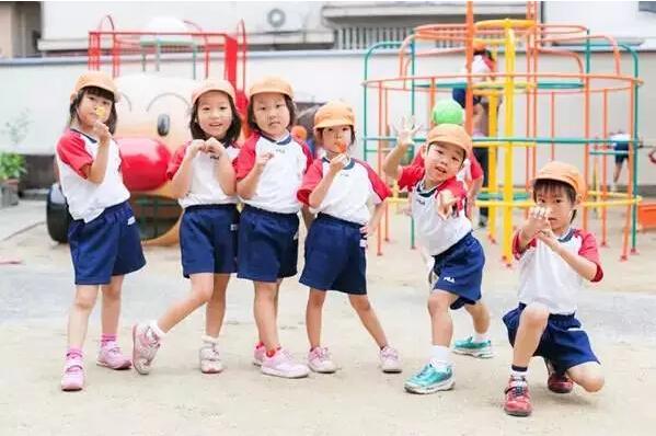 记录日本小朋友幼儿园的一天