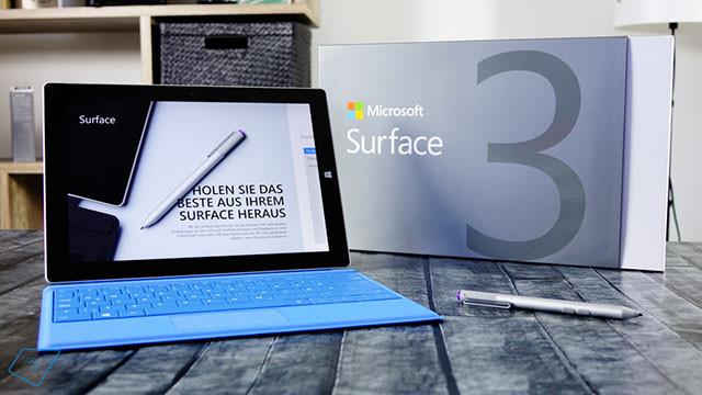 Surface Pro 3/Surface 3迎来固件更新 支持Windows 10新功能