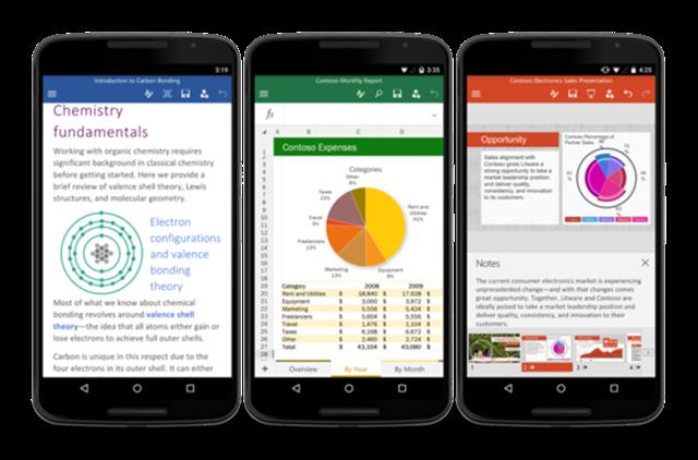 微软正式发布Android手机版Office应用