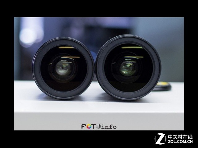 新头太粗壮 尼康两代24-70mm外观对比