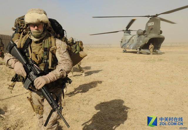 超视距作战 未来战场中的虚拟现实技术