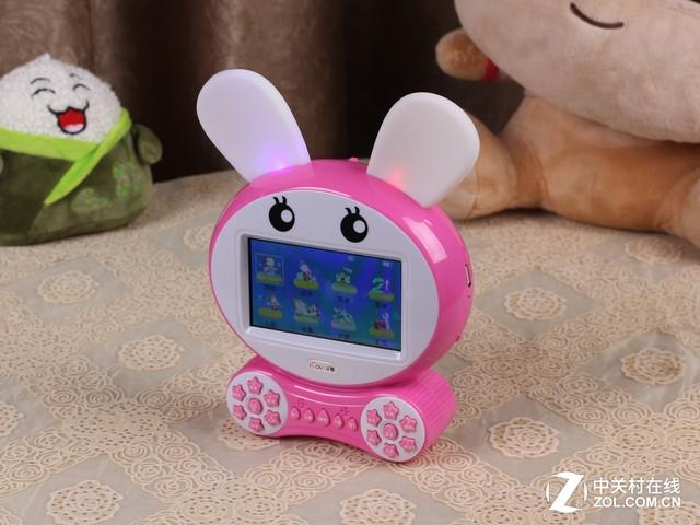 艾蔻娃娃故事机 小白兔形状-能看的早教机 艾蔻娃娃故事机体验分享