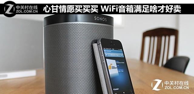 心甘情愿买买买 WiFi音箱满足啥才好卖