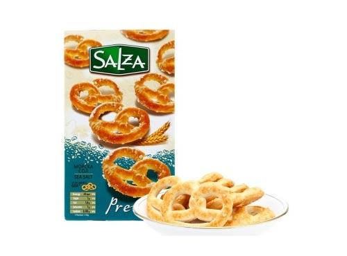 保加利亚进口 甜家(sweet+plus)普瑞兹海盐咸饼干 125g