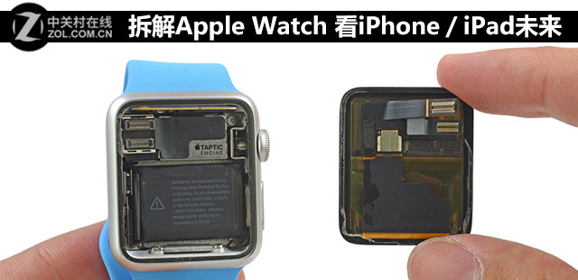 从Apple Watch拆解 看iPhone/iPad未来