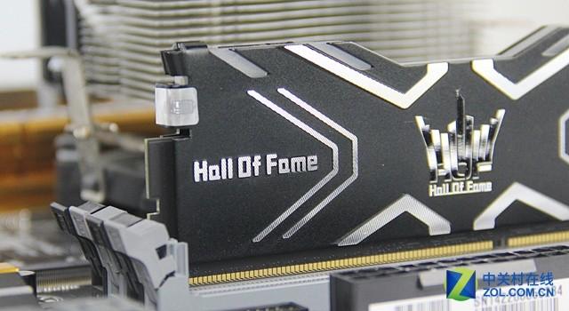 影驰HOF 4GB*2 DDR3 2400超频内存评测