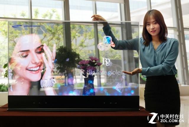 性能全面提升!三星镜面透明OLED首秀