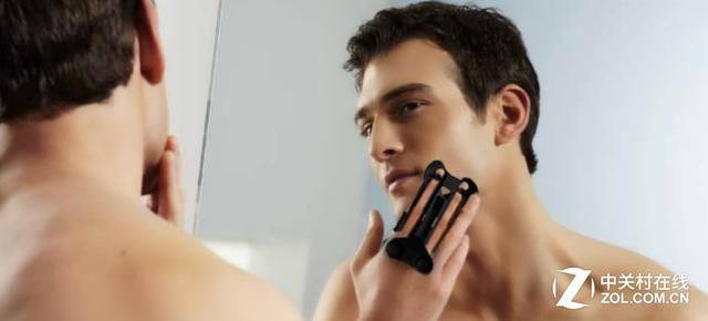 竟能戴在手上使用 新奇便攜剃須刀問世