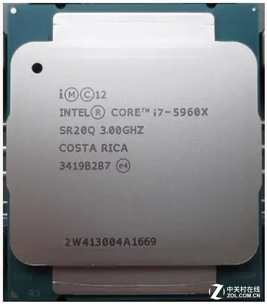 桌面顶级处理器 酷睿i7-5960X报7699元