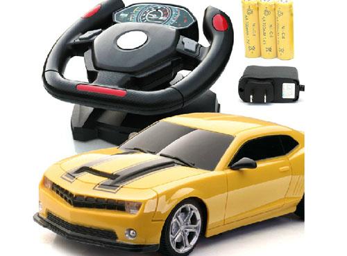 儿童方向盘遥控车图片