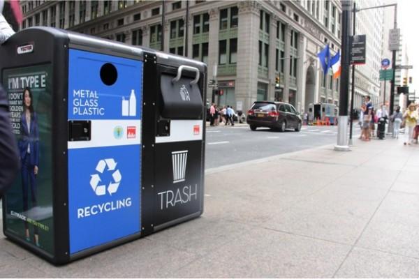 黑科技:Wi-Fi热点智能垃圾桶现身纽约