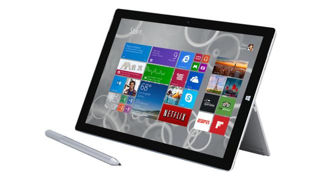 买!Surface 3将很快预装Win10操作系统