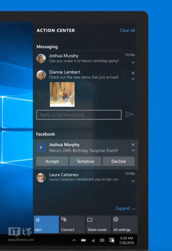 而windows insider会员应该会早于普通用户和这些新功能见面.