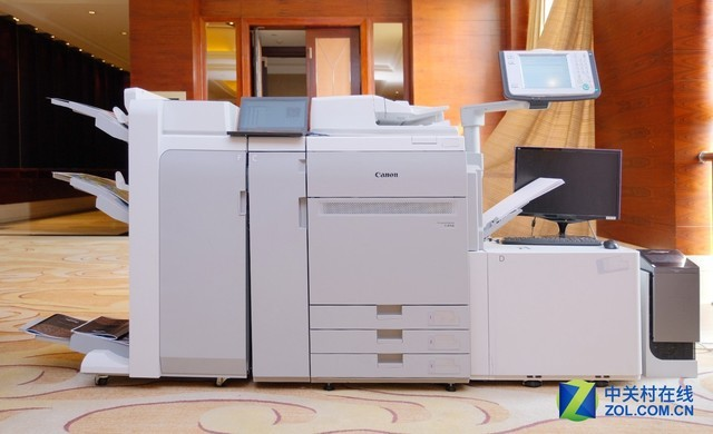 深圳IT�W�蟮�:佳能�l布��I5色TM系列大幅面打印�C