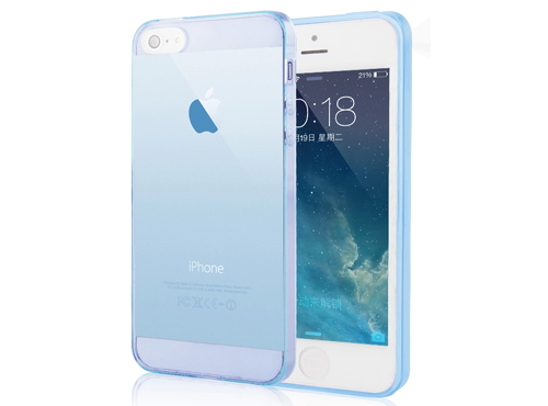iphone5s硅胶边框手机壳