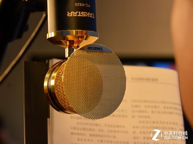 专业级录音品质 得胜电容麦克风评测