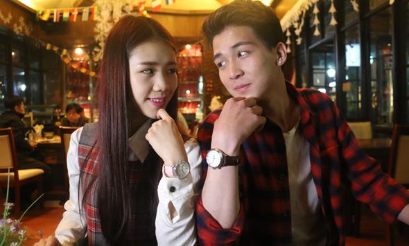 情趣互动 Sma Watch情侣款智能手表