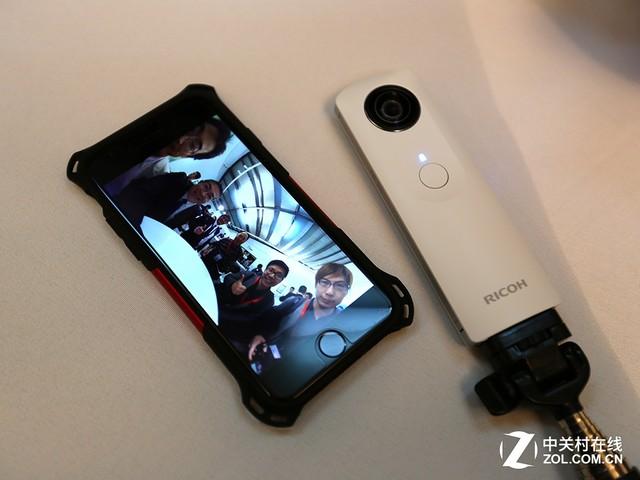 理光360度全景照相机THETA正式发布