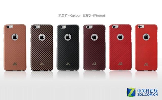 绝佳手感 iPhone 6凯芙拉手机壳体验