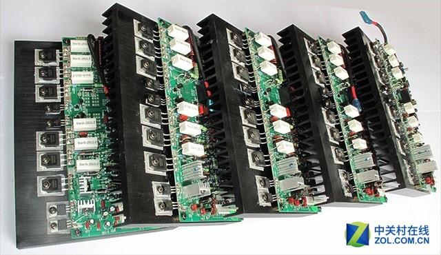 ad-7300pa采用独立七声道功放单元电路结构,我们可以理解为,它是