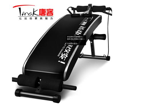 唐客仰卧板仰卧起坐健身器材
