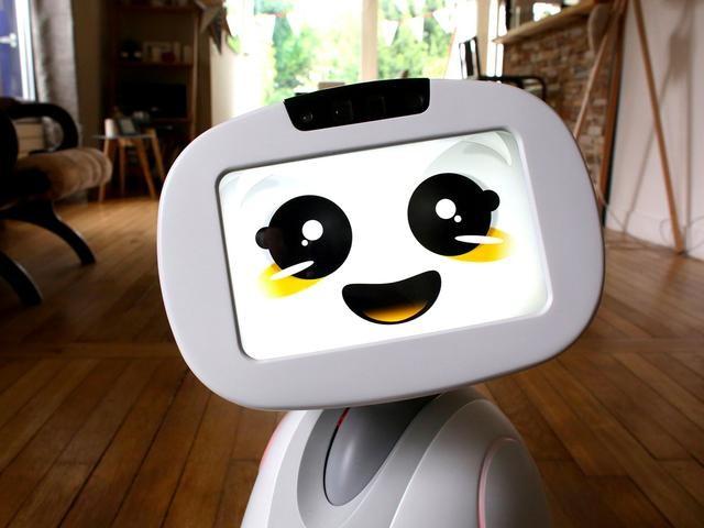 萌萌哒的居家机器人(图片来自:bi中文站)