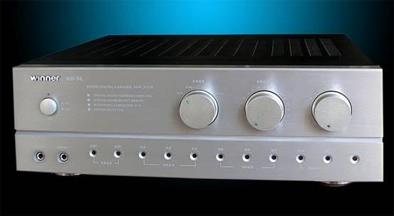 高端家用卡拉ok功放机--天逸ad-680p