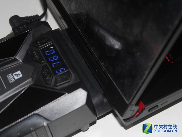 性能先锋 黑泽氏游戏笔记本散热器评测
