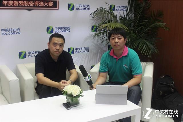 决战未来游戏 CJ现场专访NVIDIA金洋