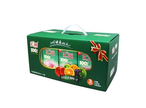 100%汇源200ml桃汁精品礼盒 (200ml*12)