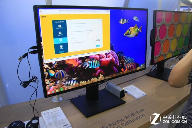 专业显示器内置硬件校色功能_华硕 ROG PG2