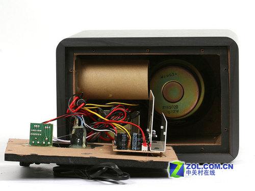 木质音箱内部结构
