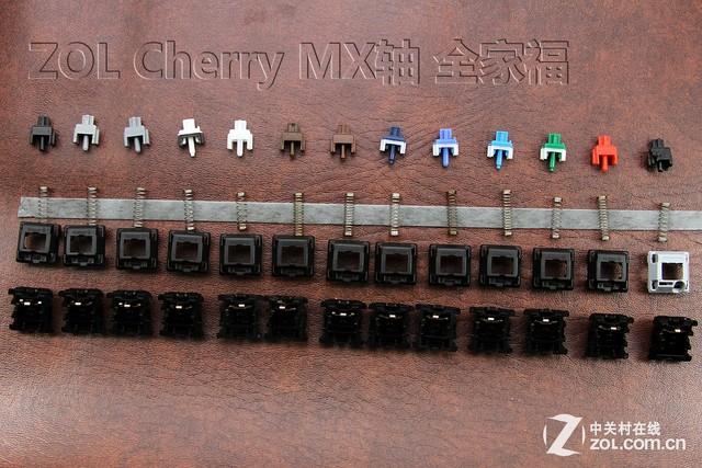 总有你没见过的 Cherry MX稀有轴体盘点