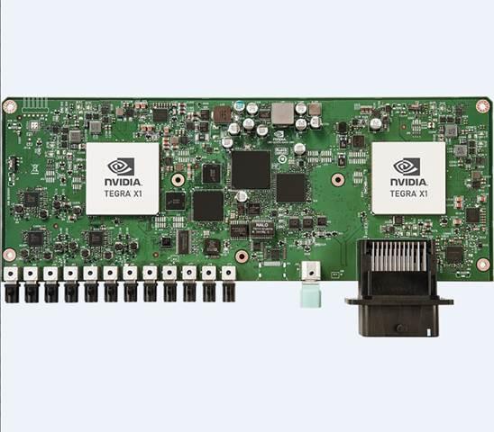 NVIDIA DRIVE CX NVIDIA DRIVE CX 座舱电脑是一款完整的软硬件解决方案,可成就先进的图形与计算机视觉功能,满足导航、信息娱乐、数字仪表组以及驾驶员监控等需要。它还可以成就环绕视觉 (Surround-Vision),实时提供无失真全局 360 度汽车视野,从而解决了盲区问题,另外还可以用数字智能后视镜完全取代物理后视镜。 DRIVE CX 可选配 Tegra X1 或 Tegra K1 处理器,配备全套道路测验软件,能够在多个显示屏上驱动 1680 万个像素,这一数字比当今车
