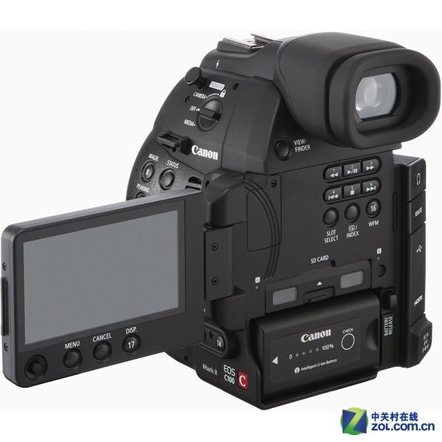 双像素AF 佳能发布EOS C100 Mark II