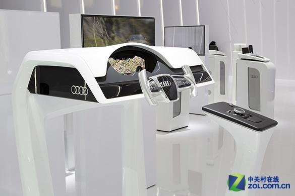 无人驾驶900公里 奥迪a7概念车完成首试 高清图片