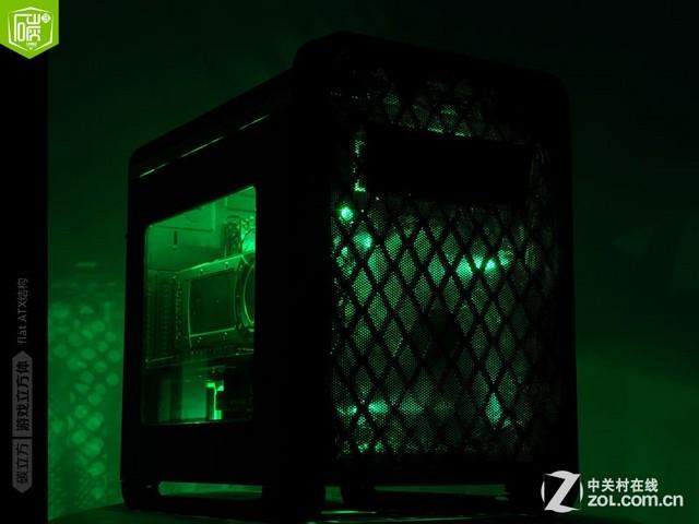 个性DIY灯光改造 先马碳立方布光展示