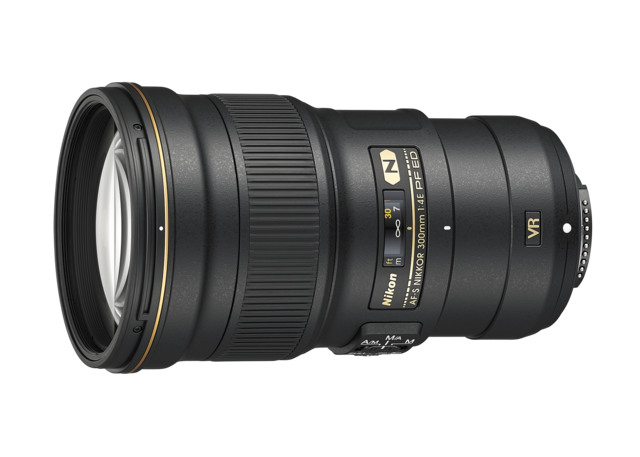 尼康发布AF-S尼克尔300mm f/4E PF ED VR镜头
